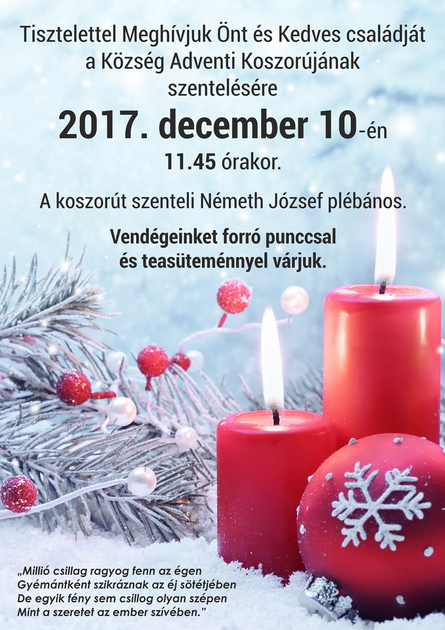advent szentpal web2017